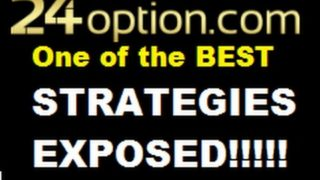 Best Binary Options Strategy in ACTION Traing with 24option