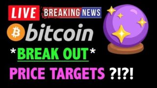 Bitcoin *BREAK OUT ALERT* PRICE TARGETS?❗️LIVE Crypto Trading Analysis TA & BTC Cryptocurrency News