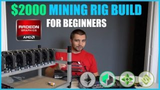 How To Build Crypto Mining Rig W/ $2000 or LESS – Beginner Tutorial – ETH/ZEC/XMR