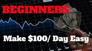Simple Method To Make $100 A Day Trading Cryptocurrency As A Beginner |  Tutorial Guide