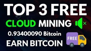 Top 3 Free Bitcoin Cloud mining Site 2019  New Free Bitcoin Earning Sites 2019 Free 1000 gh/S Bouns
