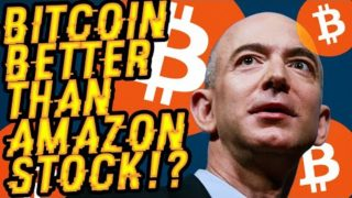 BITCOIN BETTER THAN AMAZON STOCK? BTC'S A SCREAMING BUY! His BTC Predictions NEVER WRONG! HUGE DATE?
