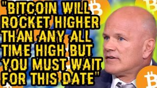 """BITCOIN Will ROCKET Higher Than ANY ALL TIME HIGH But You MUST WAIT For THIS DATE"" Novogratz Speech"
