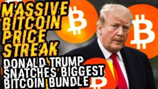 DONALD TRUMP Snatches BIGGEST BITCOIN BUNDLE Yet? Why His SWIFT PURCHASE Proves MASSIVE PRICE STREAK