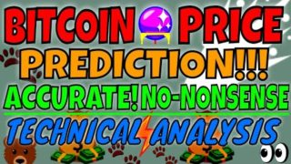 BITCOIN PRICE!CRYSTAL BALL PREDICTION!CRITICAL UPDATE! Do Not Miss!!! The best T.A Period!