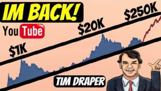 YouTube's Crypto Purge | Tim Draper and Bitcoin's breakout coming!