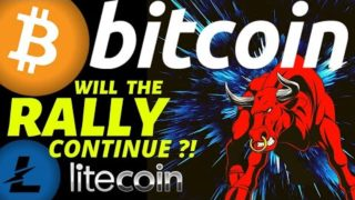 🔥 WILL THE RALLY CONTINUE FOR BITCOIN AND LITECOIN?🔥btc price prediction, analysis, news, trading