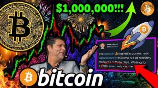 """BITCOIN BREAKOUT!!? $6,000 PUMP IF THIS HAPPENS!! """"$1,000,000 BTC NEXT HALVING Possible"""" – Raul Pal"""