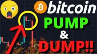 CRAZY!!!!! BITCOIN DUMPED $1000 IN 3 MINUTES!! MY TARGETS FOR THIS BITCOIN PRICE DUMP!!