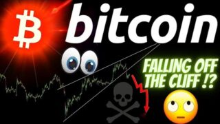FALLING OFF THE BITCOIN CLIFF!? LTC and ETH Crypto BTC TA price prediction, analysis, news, trading